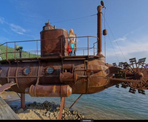 Подводная лодка на Байкале