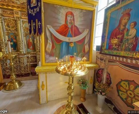 Храм Рождества Пресвятой Богородицы в пос. Лазаревском